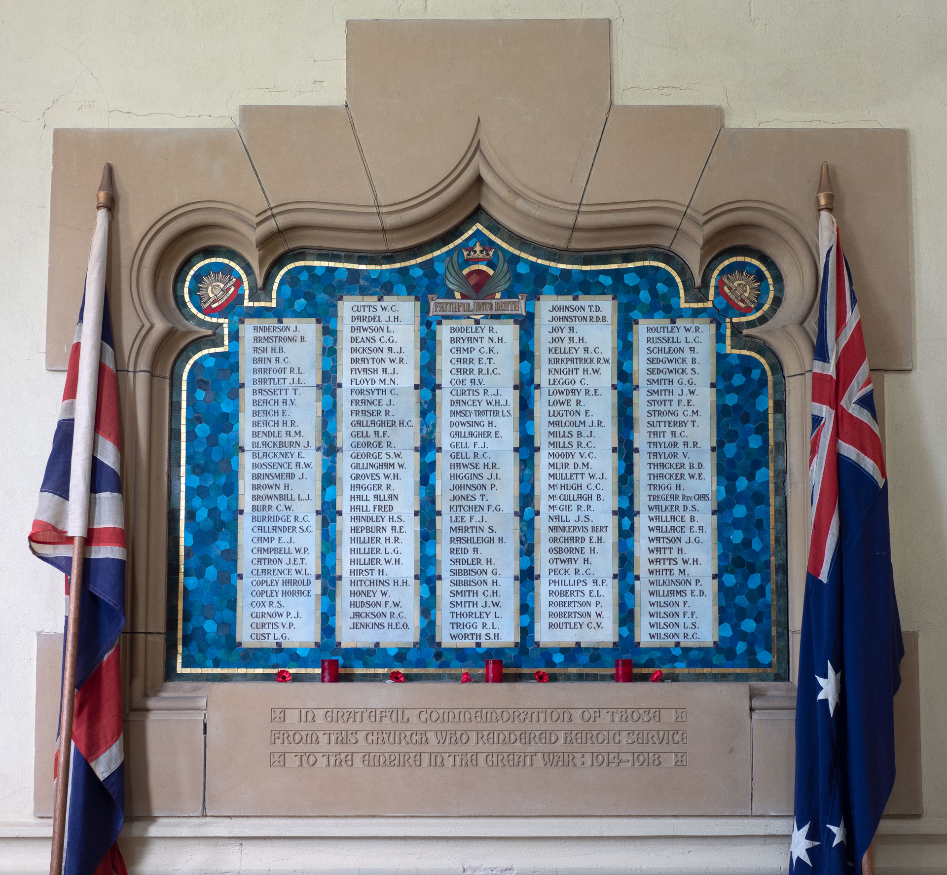Yarra St Methodist Church Members Who Served