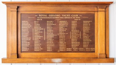 Royal Geelong Yacht Club Members Who Served