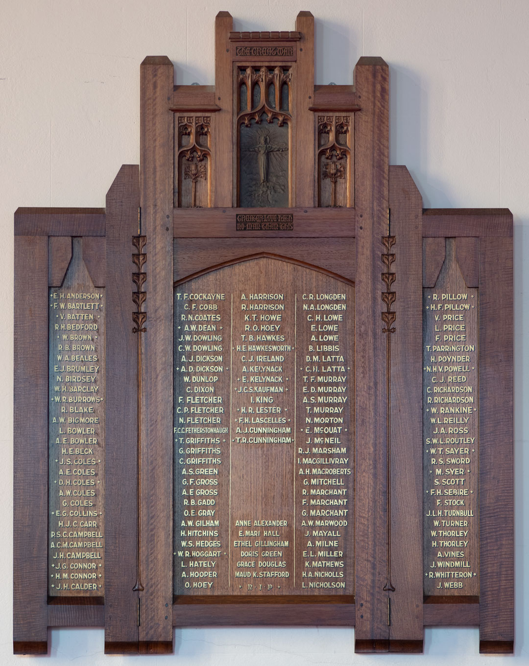 All Saints Church Newtown Members Who Served