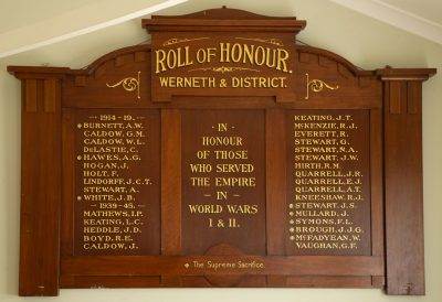 Werneth and District Roll of Honour