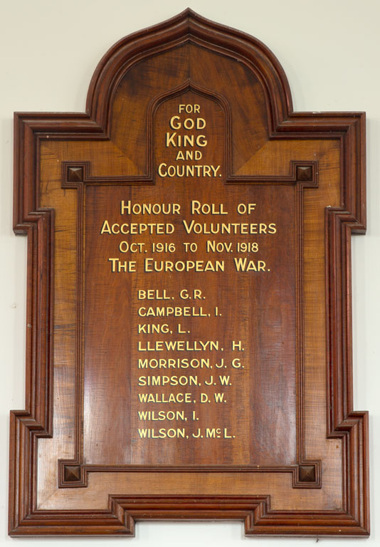 Shelford Presbyterian Church Members Who Served