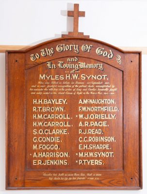 Fyansford Church of England Members Who Served
