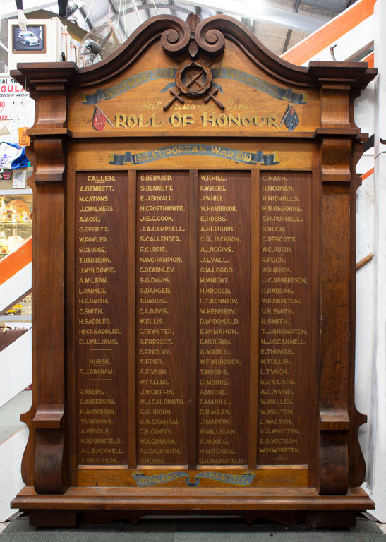 Independent Order of Rechabites Self-reliance Tent Roll of Honour