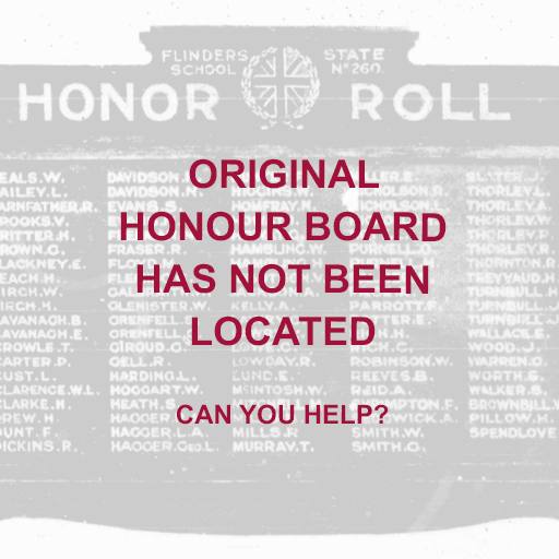 Flinders State School Honor Roll