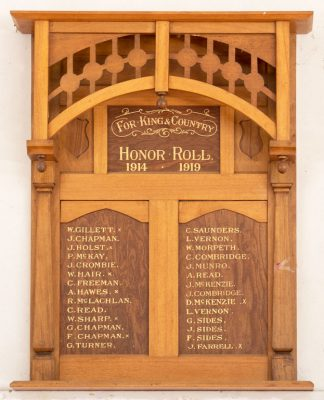 Grenville District Honor Roll